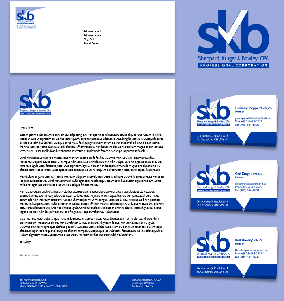 Sheppard Kruger Bowley CPA Brand